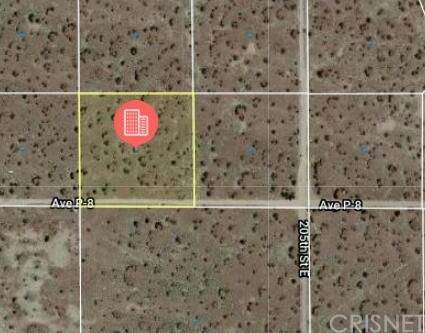 0 Vac/Cor 204E Calbuco Ave/Ave P, Lake Los Angeles, CA 93591 (#SR21227923) :: The Bobnes Group Real Estate