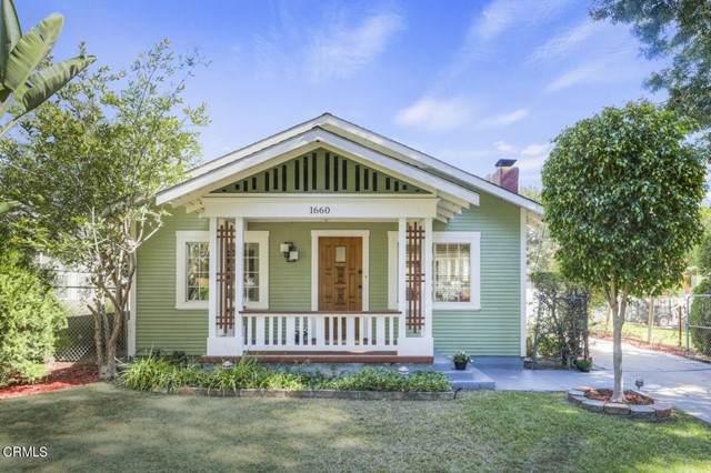 1660 Navarro Avenue, Pasadena, CA 91103 (#P1-7126) :: The Bobnes Group Real Estate