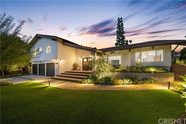 5310 Overing Drive, Woodland Hills, CA 91367 (#SR21229764) :: Randy Plaice and Associates