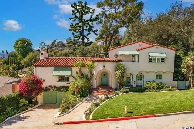 1050 Hillcroft Road, Glendale, CA 91207 (#320008120) :: Vida Ash Properties | Compass
