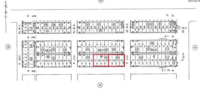 0 Ave E1 Pl And 11 St W, Lancaster, CA 93534 (#SR21235870) :: Mark Moskowitz Team | Keller Williams Westlake Village