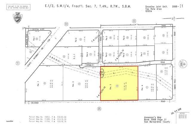 0 S. Of Hwy138, Soledad Road, Pinon Hills, CA 92372 (#SR19110912) :: SG Associates