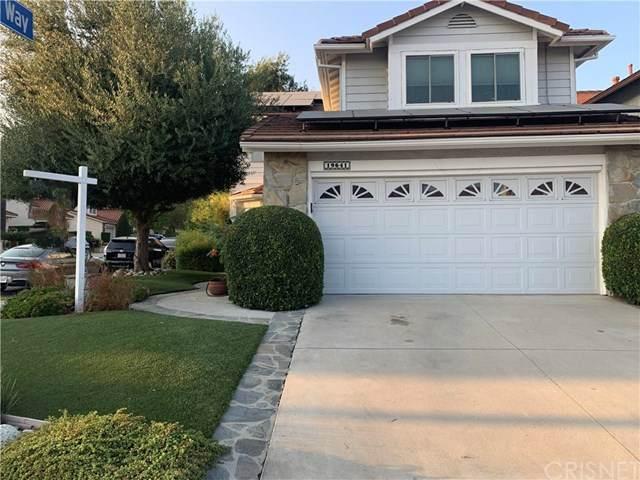 19641 Crystal Hills Drive, Porter Ranch, CA 91326 (#SR20198687) :: Compass