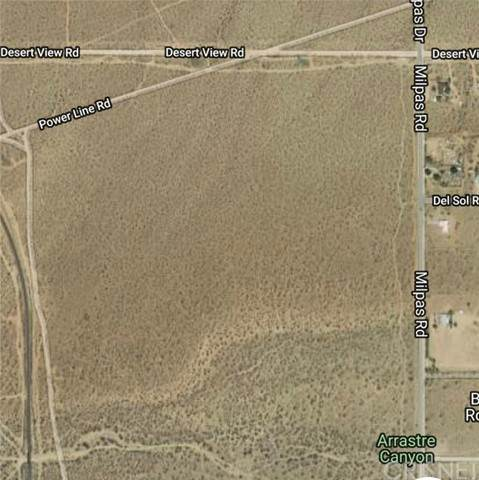 0 Unknown, Apple Valley, CA 92307 (#SR20215867) :: Randy Plaice and Associates