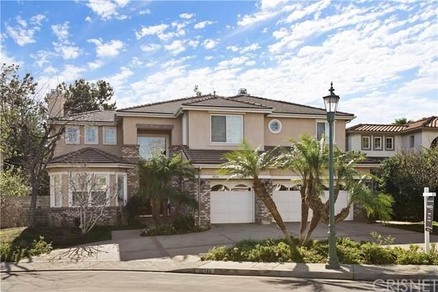 18746 Maplewood Lane, Porter Ranch, CA 91326 (#SR21007075) :: Randy Plaice and Associates