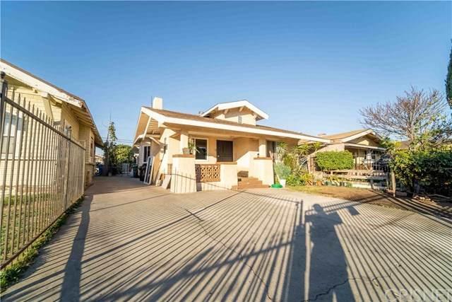 1251 W 55th Street, Los Angeles, CA 90037 (#SR21013528) :: Berkshire Hathaway HomeServices California Properties