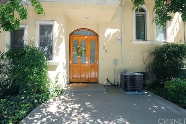 216 N Buena Vista Street #103, Burbank, CA 91505 (#SR21139668) :: The Bobnes Group Real Estate