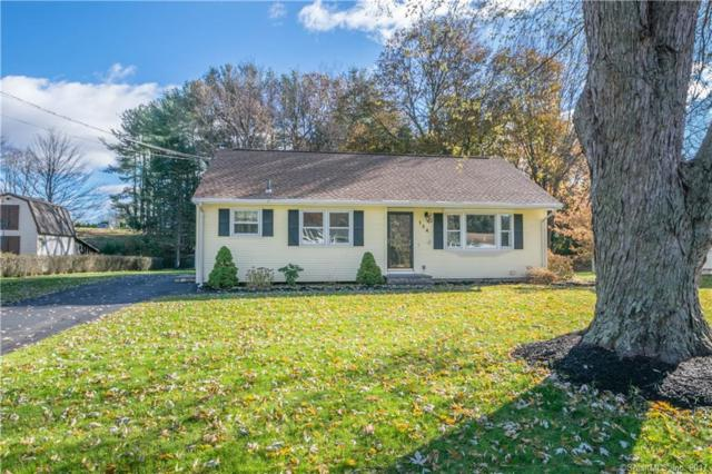 154 Pine Tree Lane, South Windsor, CT 06074 (MLS #170033160) :: Hergenrother Realty Group Connecticut