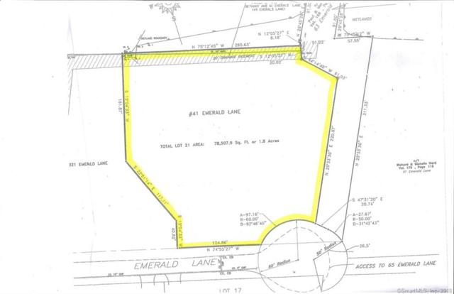 Lot 21/41 Emerald Lane, Bethany, CT 06524 (MLS #170124600) :: Stephanie Ellison