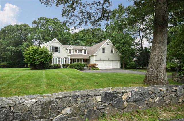 45 Huckleberry Lane, Darien, CT 06820 (MLS #170125579) :: The Higgins Group - The CT Home Finder