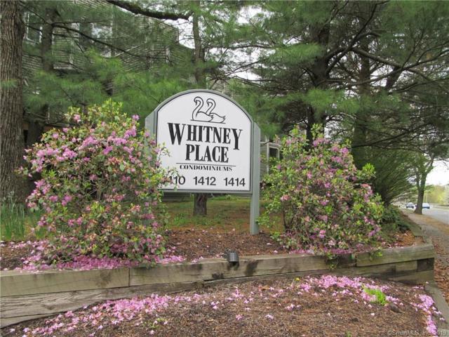 1414 Whitney Avenue C3, Hamden, CT 06517 (MLS #170213937) :: Mark Boyland Real Estate Team