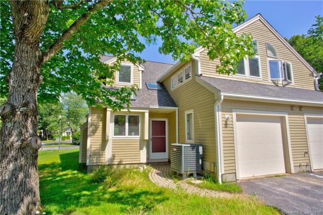 127 Courtyard Lane #127, Mansfield, CT 06268 (MLS #170214252) :: Mark Boyland Real Estate Team