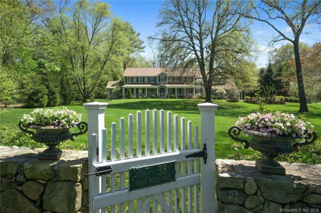 38 W Hills Road, New Canaan, CT 06840 (MLS #170216001) :: The Higgins Group - The CT Home Finder