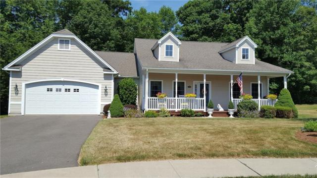 12 Timberpost Way #12, Hebron, CT 06248 (MLS #170217446) :: Anytime Realty
