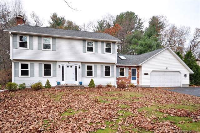 22 Marguy Lane, Suffield, CT 06093 (MLS #170251911) :: The Higgins Group - The CT Home Finder