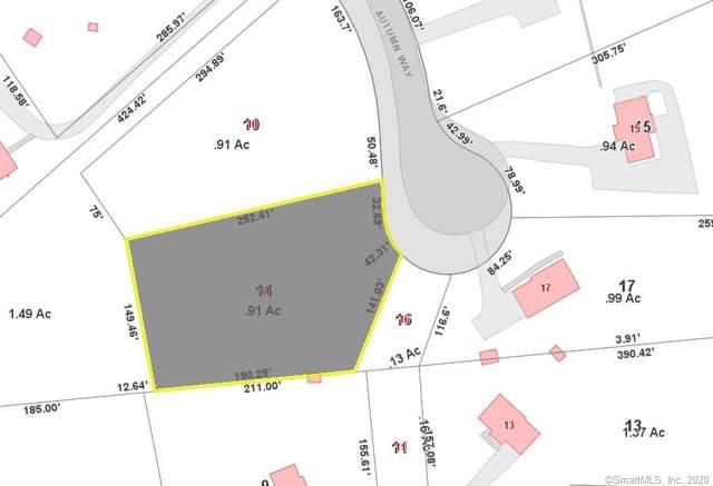 14 Autumn Way, Ledyard, CT 06339 (MLS #170266125) :: Mark Boyland Real Estate Team