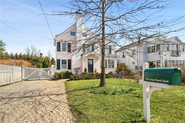 35 Compo Beach Road, Westport, CT 06880 (MLS #170276556) :: Spectrum Real Estate Consultants