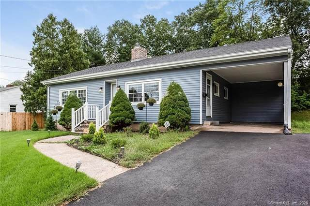 74 Hilltop Drive, Manchester, CT 06042 (MLS #170284718) :: Hergenrother Realty Group Connecticut