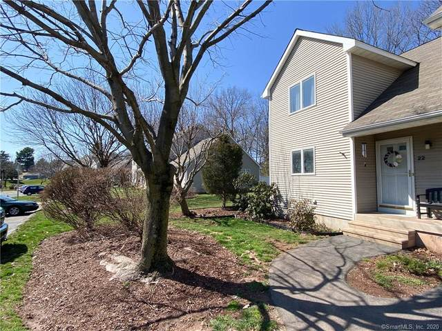 22 Sunrise Circle #22, Newington, CT 06111 (MLS #170284910) :: Spectrum Real Estate Consultants