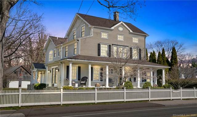 108 East Avenue, New Canaan, CT 06840 (MLS #170285261) :: Spectrum Real Estate Consultants