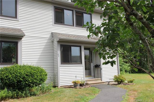 49 Green View Drive #49, Rocky Hill, CT 06067 (MLS #170311414) :: The Higgins Group - The CT Home Finder