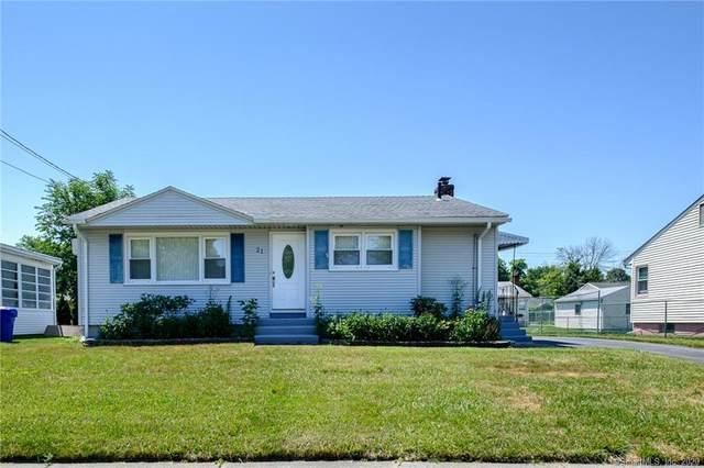 21 Dobson Drive, East Hartford, CT 06118 (MLS #170314319) :: Spectrum Real Estate Consultants