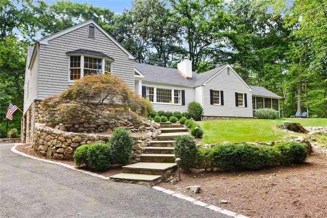 15 Partridge Road, New Canaan, CT 06840 (MLS #170321405) :: The Higgins Group - The CT Home Finder