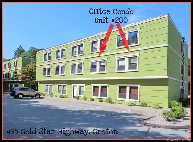 495 Gold Star Highway #200, Groton, CT 06340 (MLS #170325599) :: Anytime Realty