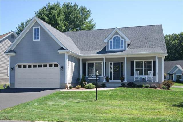 45 Tanglewood Drive #45, Somers, CT 06071 (MLS #170334246) :: NRG Real Estate Services, Inc.