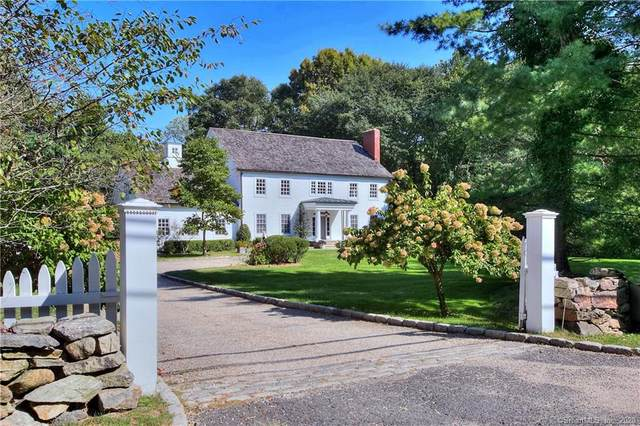 1 Old Hyde Road, Weston, CT 06883 (MLS #170341028) :: Kendall Group Real Estate | Keller Williams
