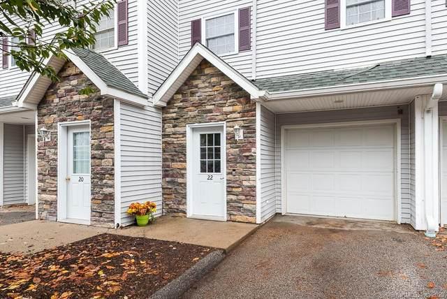 296 Hamilton Avenue #22, Norwich, CT 06360 (MLS #170351521) :: Forever Homes Real Estate, LLC