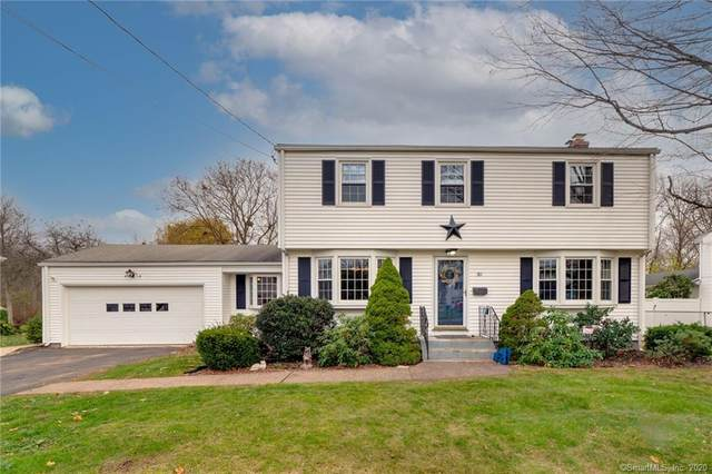 30 Ivy Lane, Wethersfield, CT 06109 (MLS #170352116) :: Hergenrother Realty Group Connecticut