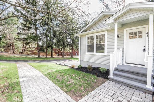 41 Burban Drive, Branford, CT 06405 (MLS #170358394) :: Around Town Real Estate Team
