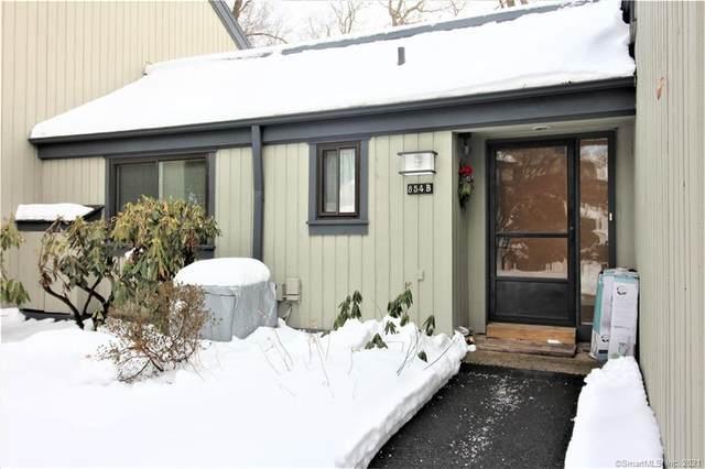 854B Heritage Village B, Southbury, CT 06488 (MLS #170370462) :: Tim Dent Real Estate Group