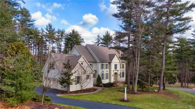 45 Old Stone Crossing, Simsbury, CT 06092 (MLS #170370709) :: Tim Dent Real Estate Group