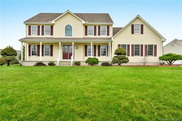 46 Castlewood Drive, South Windsor, CT 06074 (MLS #170383476) :: Around Town Real Estate Team