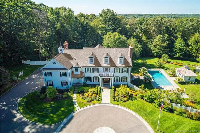 163 Woodridge Circle, New Canaan, CT 06840 (MLS #170384157) :: The Higgins Group - The CT Home Finder