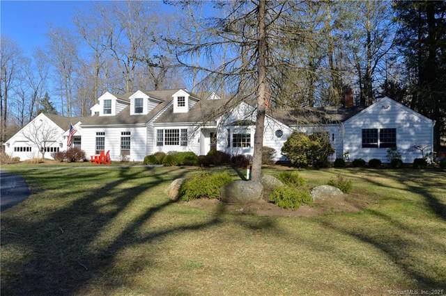 668 Ridgebury Road, Ridgefield, CT 06877 (MLS #170386841) :: Spectrum Real Estate Consultants