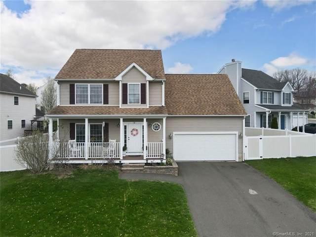 14 Saratoga Way, Meriden, CT 06450 (MLS #170390427) :: Around Town Real Estate Team