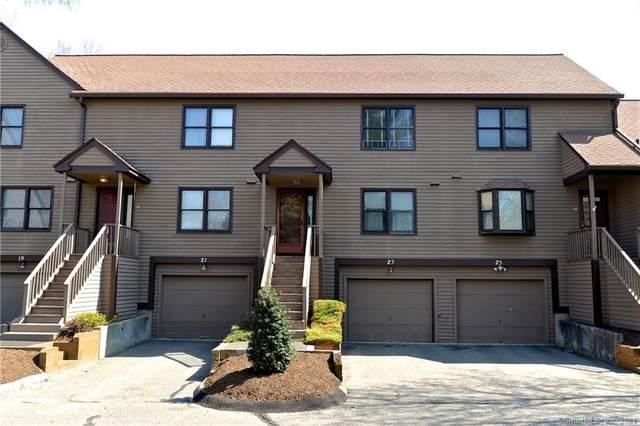 23 Meadowlark Circle #23, Monroe, CT 06468 (MLS #170392243) :: Around Town Real Estate Team