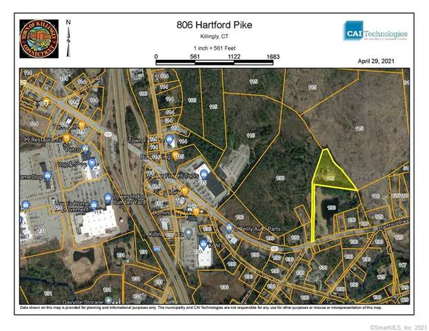 806 Hartford Pike, Killingly, CT 06241 (MLS #170394673) :: Next Level Group