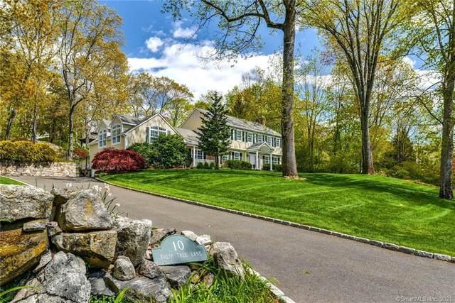 10 Tulip Tree Lane, Darien, CT 06820 (MLS #170397216) :: Frank Schiavone with William Raveis Real Estate