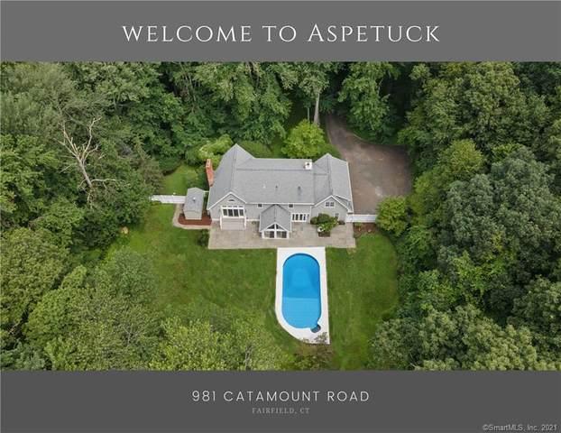 981 Catamount Road, Fairfield, CT 06824 (MLS #170401500) :: Spectrum Real Estate Consultants