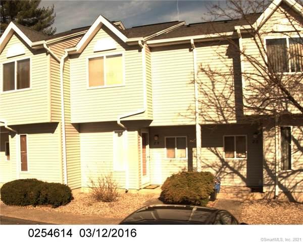155 Redstone Hill Road #25, Bristol, CT 06010 (MLS #170404050) :: Next Level Group