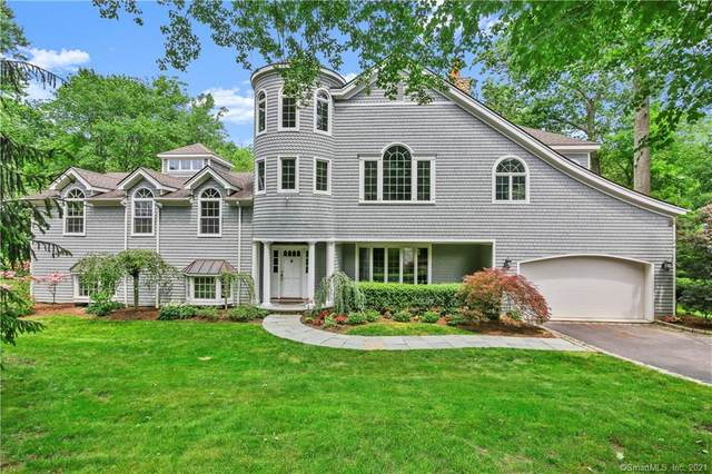 10 Parish Lane, New Canaan, CT 06840 (MLS #170408579) :: The Higgins Group - The CT Home Finder