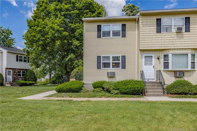 56 Elm Street #44, Enfield, CT 06082 (MLS #170409245) :: Around Town Real Estate Team