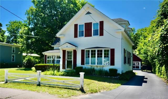 23 School Street, Plainfield, CT 06374 (MLS #170411445) :: Coldwell Banker Premiere Realtors