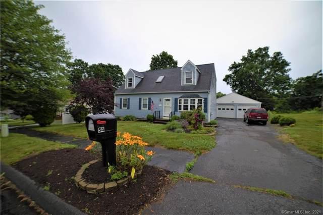 54 Knob Hill Road, Meriden, CT 06451 (MLS #170413141) :: Kendall Group Real Estate | Keller Williams