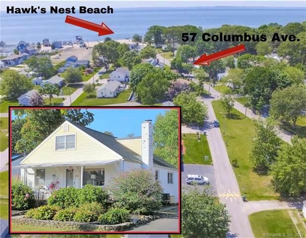 57 Columbus Avenue, Old Lyme, CT 06371 (MLS #170423155) :: GEN Next Real Estate