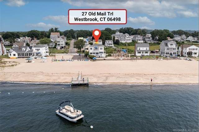 27 Old Mail Trail, Westbrook, CT 06498 (MLS #170423937) :: Linda Edelwich Company Agents on Main